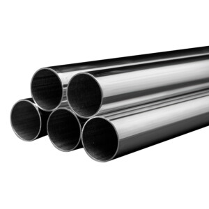 Sterling Silver Round Tube